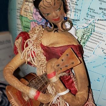 Spanish Flamenco doll, Unknown origin - Dolls