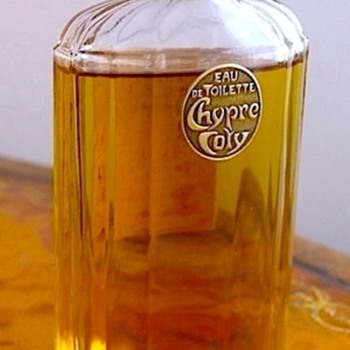 Vintage Deco Bottle of  COTY CHYPRE - Bottles