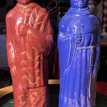 Gladding McBean Bottle Vases - Pottery