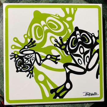 Interesting Frog Tile - Animals
