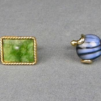 2 Pair of Vintage Cufflinks - Danté and Kreisler Craft