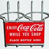 Coca Cola Shopping Cart Bottle Holder