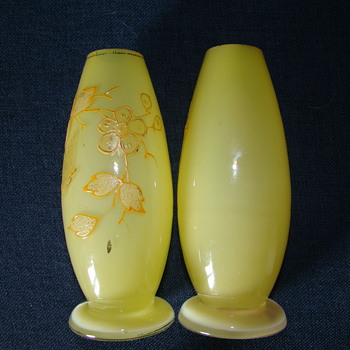 Some more yellow - Art Glass
