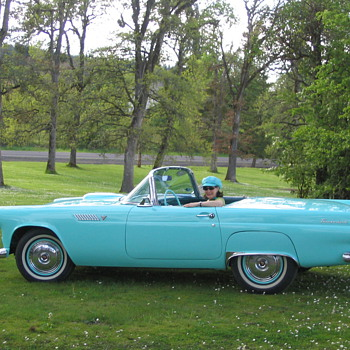 1955 Ford T-Bird - Classic Cars