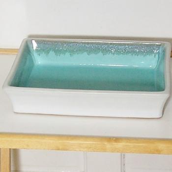 Heavy Pottery Dish with unusual mark - Pottery