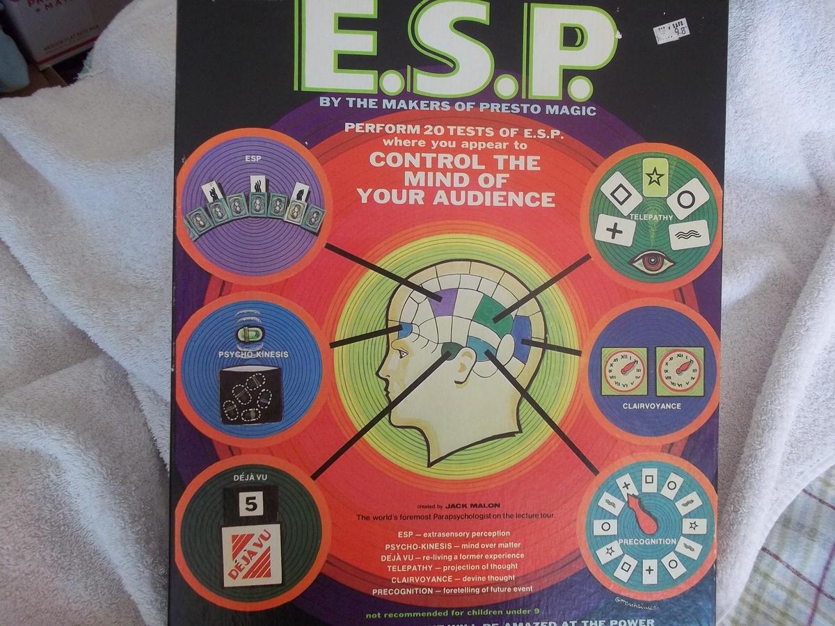 Esp Clairvoyance Test