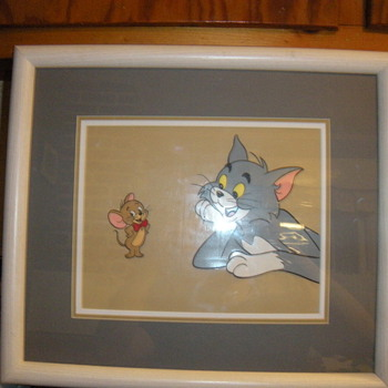 Tom & Jerry Amination Cel - Movies