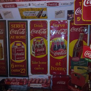 Trevor's Coke Collection - Coca-Cola