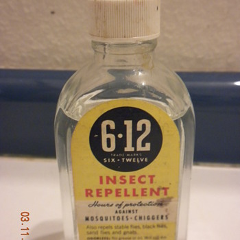 6-12 Insect repellent