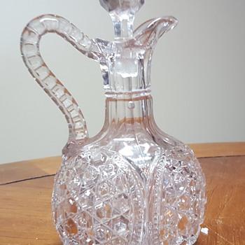 Large Glass Cruet