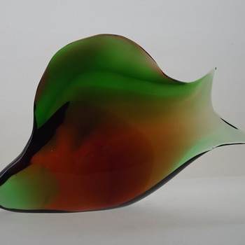 Early Exbor fish sculpture - Art Glass