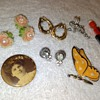 a few non-earring things from the costume jewelry lot