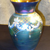 Fenton Favrene Connisseur Vase. Aurene Favrile mix.