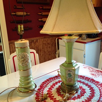 Japanese inspired 40's lamps??