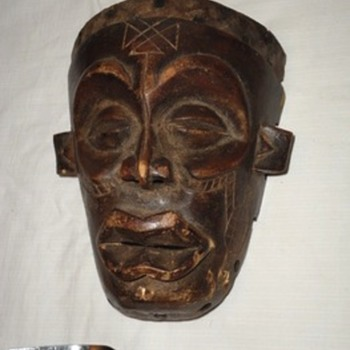 Wooden Mask - Fine Art