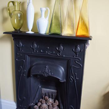 Art Nouveau Fireplace - Art Nouveau