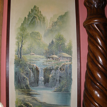 Painting of another lovel place.