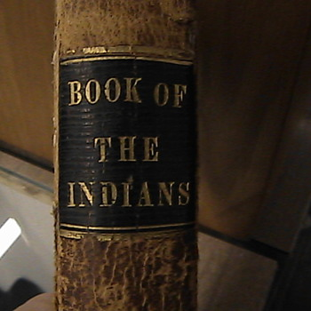 "Antique Native American ""Book of the Indians"" 1863  - Native American"
