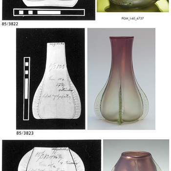 Bakalowitz heliotrop mit olympia aka Syrius - Art Glass