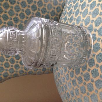 Tobacco Jar  - Glassware