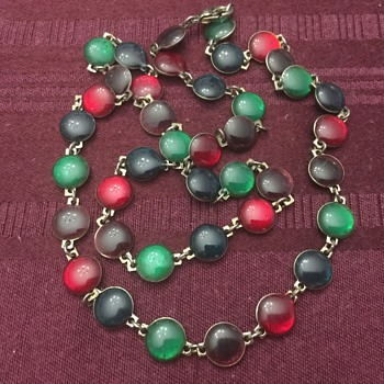 Colorful necklace - Costume Jewelry