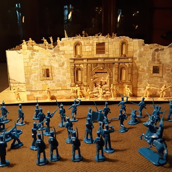 IMEX Alamo Playset 1/72 Scale 1997 Part One - Toys