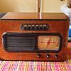 1941 Sled Philco Radio, Model 41-226, Attrib Walter Dorwin Teague