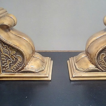 Ceramic Bookends - Pottery