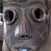 African Tribal Helmet Mask