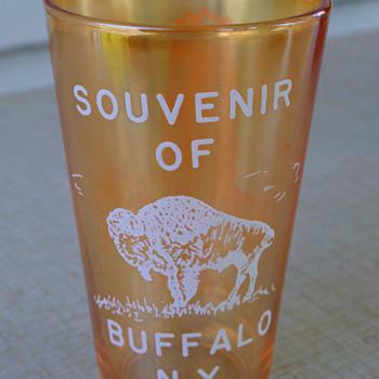 Buffalo's NYC Terminal Souvenir...Reverse View - Railroadiana