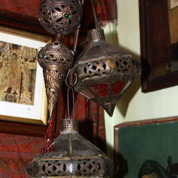 Old Hanging Votive Candle Holders? or what? - Lamps