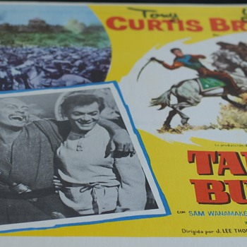 TARUS BULBA Yul Brynner 1962 - Movies