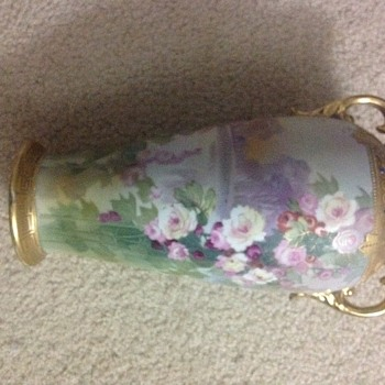 "Large 12"" vase.  Is it a rare one, or nothing special? - Asian"