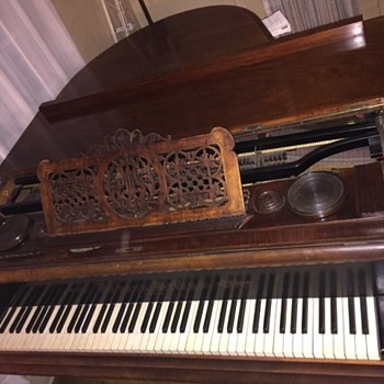 1869 Baby Grand Piano