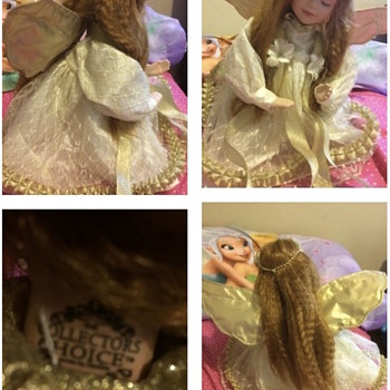 Angel Redhead Porcelain Doll - Collector's Choice - Dolls