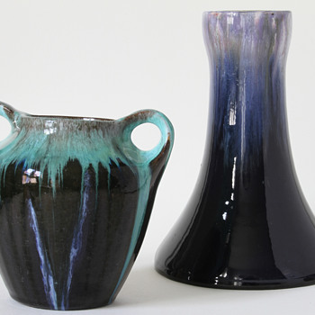 two art nouveau / jugendstil vases - Art Nouveau