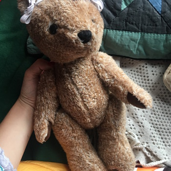 Jointed teddy  - Dolls