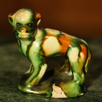 Sancai-glazed Monkey - Asian
