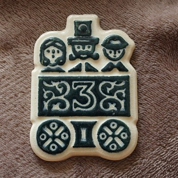 Small Scandi tile/plaque - Pottery