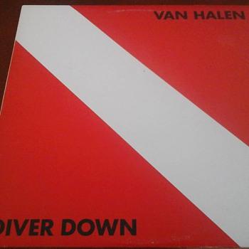 "Van Halen "" Diver Down "" - Records"