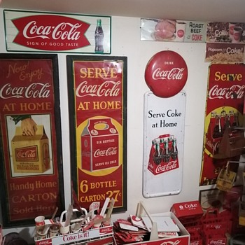 Coca-Cola Signs - Coca-Cola