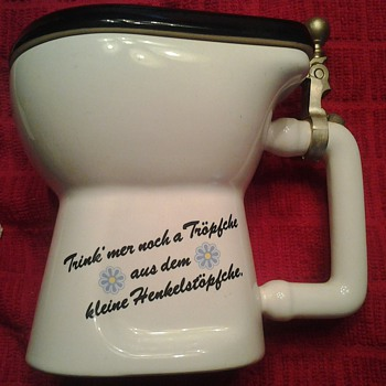 Made in Germany Porcelain Toilet Stine / Mug