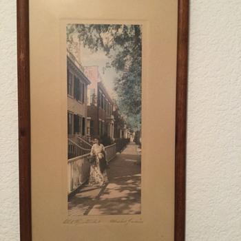 Old H. Marshall Gardiner Print - Fine Art