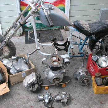 1966 kawasaki w650 chopper  frame# w1f-01000 engine# w1e-2020 - Motorcycles