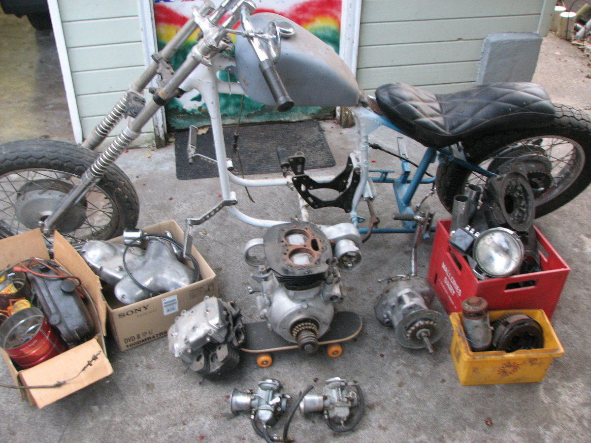 1966 Kawasaki W650 Chopper Frame W1f 01000 Engine W1e 2020