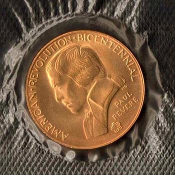1976 - Bicentennial Medal (Paul Revere) - US Coins