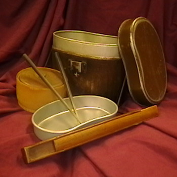 WW II Japanese Mess Tin and Accessories - Military and Wartime