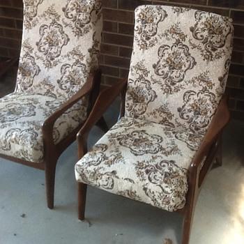Mid century australian fler sc58 chairs - Mid-Century Modern