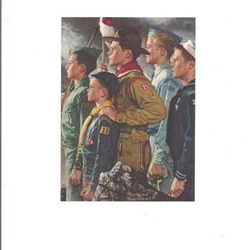 NORMAN ROCKWELL PRINT - Posters and Prints