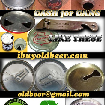 Old beer cans  - Breweriana